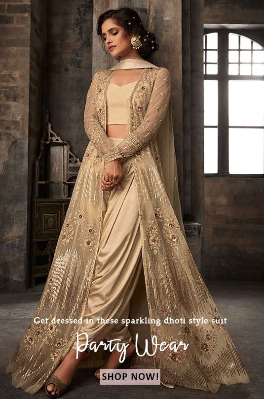 latest partywear suits online